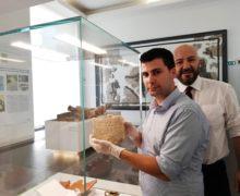 Reggio, torna al MArRC l'iscrizione ebraica del III secolo d. C.