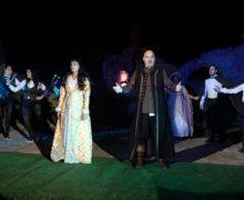 Giulietta e Romeo nella cornice del castello di Savuto- Cleto
