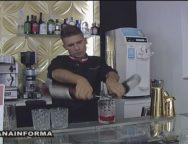 Il grande Barman Bruno Vanzan al bar Illusion di San Ferdinando