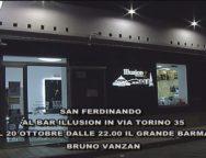 San Ferdinando, al Bar Illusion il grande Barman Bruno Vanzan
