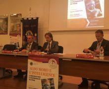 """Presentato a Maglie, il libro di Mario Caligiuri """"Aldo Moro e l'intelligence"""