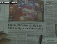 Rassegna Stampa 15 ottobre 2018
