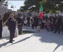 San Ferdinando, commemorato il IV Novembre Festa dell'Unita' Nazionale e delle Forze Armate