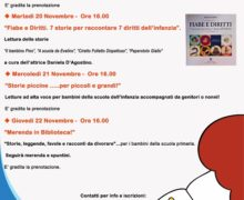"""La Biblioteca Comunale di Gioia Tauro aderisce alla """"Settimana Nazionale nati per Leggere"""""""