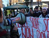 Cosenza: Studenti di nuovo in piazza per l'edilizia scolastica