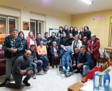 Il Centro Diocesano Vocazioni in visita alla Casa Famiglia per malati di Aids di Castellace