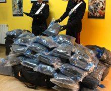 Gioia Tauro. Un arresto per detenzione di 120 kg di droga