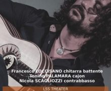 Polistena (RC): Francesco Loccisano e la sua chitarra battente all'LSS Theater