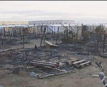 Incendio nella nuova tendopoli di San Ferdinando, un morto