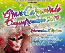 GRAN CARNEVALE CINQUEFRONDESE 2019