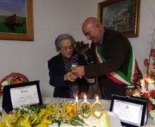 """Civita, """"Zia"""" Caterina Bellusci varca la soglia dei cent'anni"""
