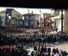Melicucco, si sono svolti i funerali di Cristian Galatà (18 anni) e Michele Varone (19)