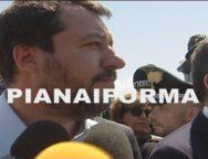 Intervista al Ministro dell'interno Matteo Salvini alla tendopoli