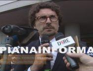 Intervento del Ministro Toninelli all'Autorita' Portuale dopo l'accordo tra Contship e TiL