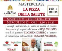 IL GOJI ITALIANO CON LA PIZZA DELLA SALUTE A TUTTOPIZZA 2019 A NAPOLI