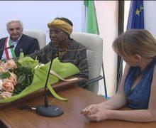 San Ferdinando, visita dell'Ambasciatrice del Burkina Faso Josephine Quedraogo