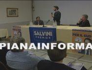 Palmi, il candidato della Lega al Parlamento Europeo Vincenzo Sofo incontra i sostenitori