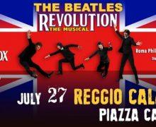 Reggio, Il 27 Luglio i Beatles Revolution Tour in piazza Castello