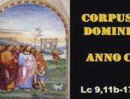 Il Cammino dello Spirito, il Corpus Domini