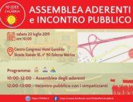Meeting Regionale Sabato 20 Luglio 2019, Falerna