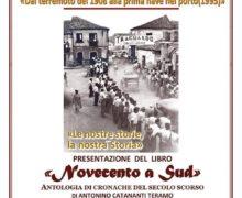 """Rizziconi, presentazione libro """"Novecento A sud-Antologia di cronache del secolo scorso"""""""