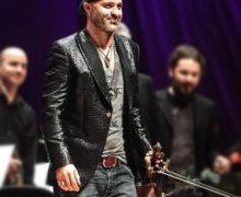 """Al """"Reggio Live Fest 2019"""" arriva Alessandro Quarta, il genio mondiale del violino con l'Orchestra Roma Sinfonietta!"""