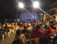 """Grande successo di partecipazione alla festa di Polistena """"Villaggio rosso"""""""