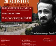 GRANDE EVENTO A CINQUEFRONDI: INTITOLAZIONE PARCO A PEPPINO IMPASTATO!