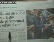 Rassegna Stampa 14 Agosto 2019