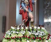 """"""" FESTA DI S. ROCCO A PALMI ,  VERA MANIFESTAZIONE DI FEDE DI OLTRE VENTIMILA FEDELI"""""""