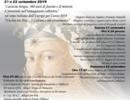 GIORNATE EUROPEE DEL PATRIMONIO 21 e 22 SETTEMBRE 2019