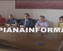 Polistena, conferenza stampa del Sindaco contro il degrado dell'Ospedale