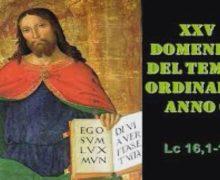 Il Cammino dello, Spirito XXV Domenica del Tempo Ordinario