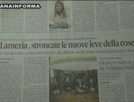 Rassegna Stampa 14 Settembre 2019
