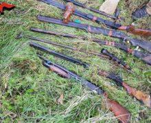 Carabinieri, servizio sul territorio Reggino, rinvenute armi e piantagione di Canapa Indiana
