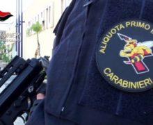 Reggio, i carabinieri intervengono e spengono un incendio in una abitazione