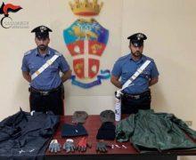Roccella Jonica (RC). I carabinieri deferiscono all'autorità giudiziaria due persone