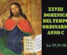 Il Cammino dello Spirito, XXVIII Domenica del tempo ordinario