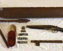 I carabinieri trovano armi a Pellaro