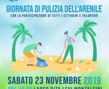 Il Comune di Roccella ha aderito alla campagna #Plastic Free  Sabato 23 novembre una giornata ecologica per la pulizia dell'arenile
