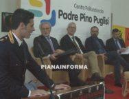 Il Ministro dell'Istruzione Fioramonti al centro polifunzionale Padre Pino Puglisi