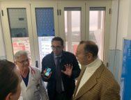 Il Commissario Cotticelli per tre ore all'ospedale di Polistena