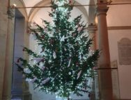 L'Albero della Pace illumina il santuario di Paola Il simbolo del Natale è stato donato dalla società Aon e decorato dal fashion designer Claudio Greco