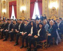 GLI STUDENTI DEL PIRIA DI ROSARNO  AL QUIRINALE ACCOLTI DA MATTARELLA