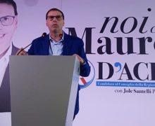 Mauro D'Acri chiude la campagna elettorale a Montalto