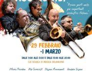 """La nuova collaborazione artistica tra i Gomalan Brass Quintet e l'Orchestra Giovanile di Fiati """"Giuseppe Scerra"""" di Delianuova"""