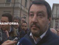Gioia Tauro, intervista a Matteo Salvini