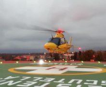 Polistena, atterra il primo Elicottero sulla pista dell'ospedale