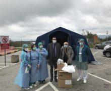 """CAMPAGNA """"SOSTENIAMOCI"""": Prime consegne all'ospedale di Polistena."""
