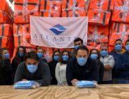 Coronavirus,l'Atlantis di Santa Cristina avvia pruduzione di mascherine sanitarie